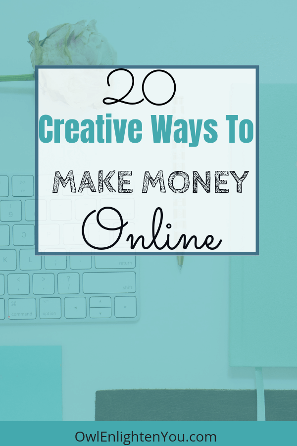 20 Ways to Make Money Online #sidehustle #makemoneyfast #makemoneyonline #legitmoney