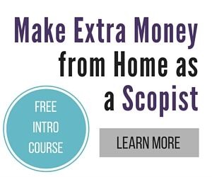 Make money at home as a Scopist.