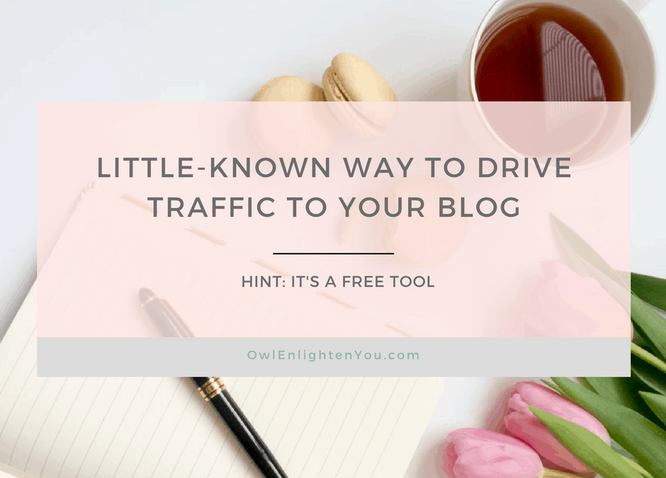Little-Known Way to Drive Traffic to Your Blog