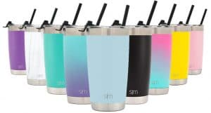 Stainless steel 20-ounce tumblers in many colors